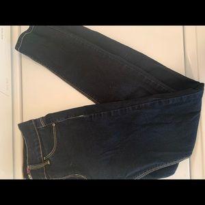 Girls jordache super skinny blue jeans size 12